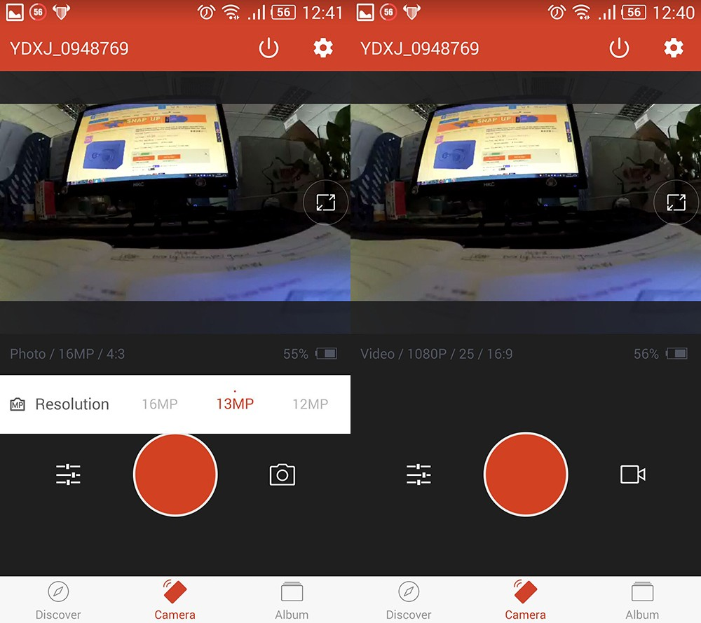 [International Edition]Original Xiaomi YI Action Camera Xiaoyi 1080P Sports Camera WiFi 3D Noise Reduction 16MP 60FPS Ambarella 22