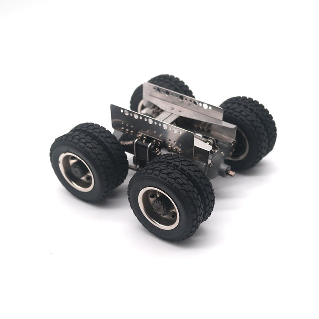 Qin24 1/24 RC Heavy Truck Assembled Middel and Rear Bridge With Suspension KIT