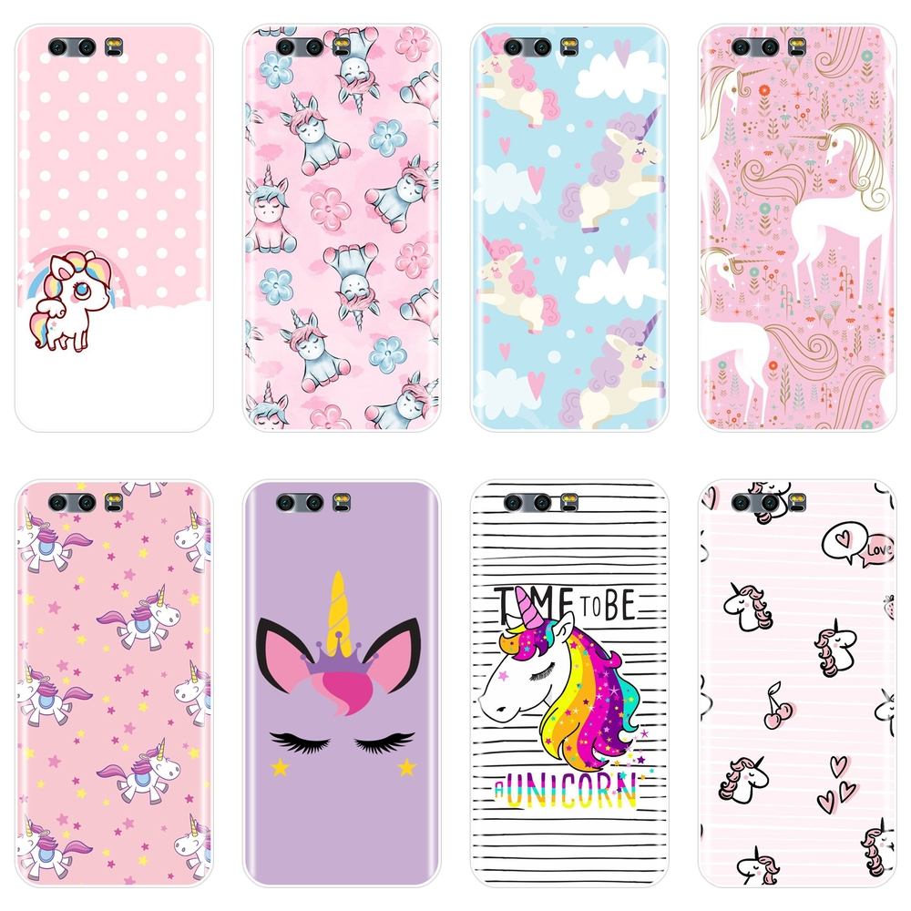 Silicone Case For Huawei <font><b>Honor</b></font> 7 8 <font><b>9</b></font> 10 <font><b>LITE</b></font> Soft Kawaii Cute <font><b>Unicorn</b></font> Cover For <font><b>Honor</b></font> 8X MAX 10 <font><b>9</b></font> 8 7 7S 7X 7A 7C Pro Phone Case image