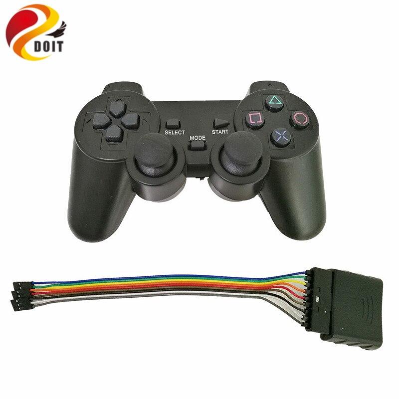2.4 г Беспроводной игры геймпад джойстик для ps2 контроллер с Беспроводной приемник PlayStation 2 консоли DualShock Gaming джойстика