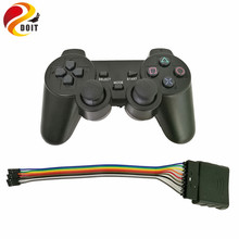 2.4G Wireless game gamepad joystick for PS2 controller with wireless receiver playstation 2 console dualshock gaming joypad(China)