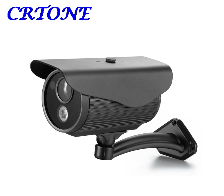 Sony CCD 1/3 700TVL Security Camera Metal Shell CCTV Camera with Bracket Outdoor Surveillance Bullet Camera
