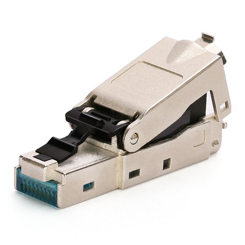 BELNET CAT7 FTP RJ45 Разъем модульный разъем полный щит для CAT7 CAT6A ethernet кабель 8P8C сетевой кабель адаптер с колпачками
