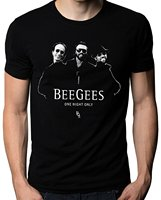 BEE GEES One Pop Music Group Legend Robin Gibb Men S White T Shirt Size S