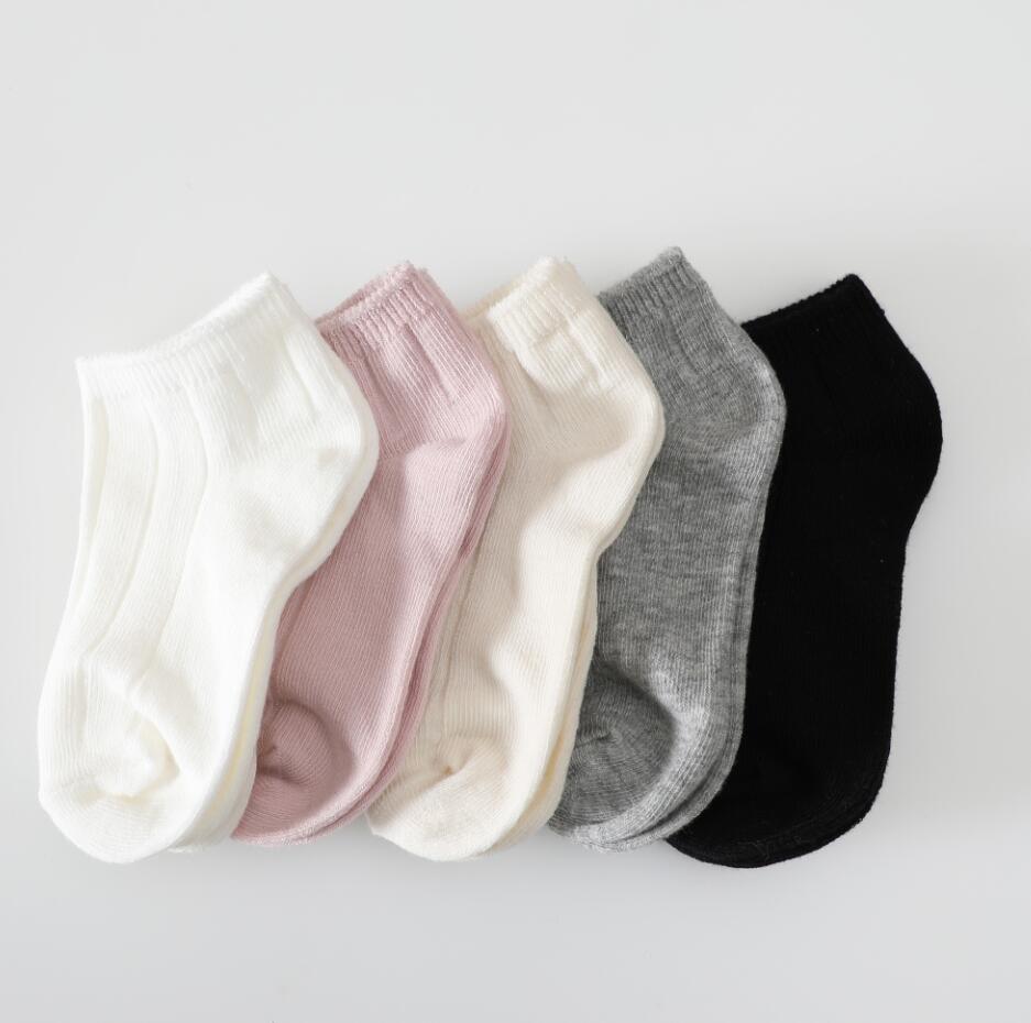 5 Pairs Newborn Baby Girl Cartoon Cotton Socks Infant Toddler Kids Soft Sock JG