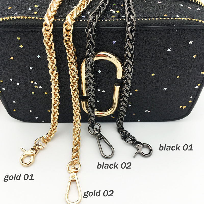 Replacement Chain Gold Bag Parts Accessories Crossbody Shoulder Bags Strap Chains For Women Hangbag Snake Long Belts Diy In