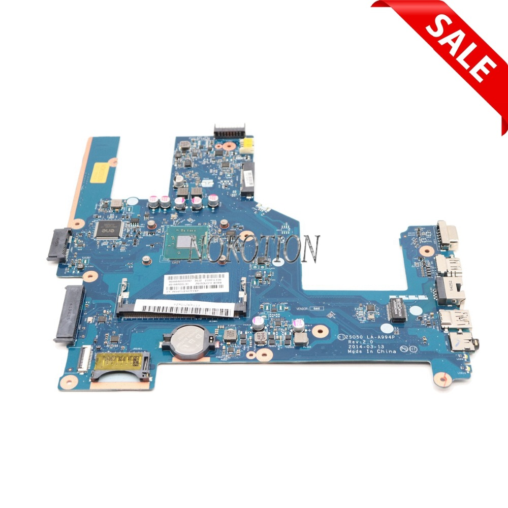 NOKOTION ZSO50 LA-A994P 761541-601 761541-001 759878-001 For HP Pavilion 15-R Laptop motherboard with Processor onboard NOKOTION ZSO50 LA-A994P 761541-601 761541-001 759878-001 For HP Pavilion 15-R Laptop motherboard with Processor onboard