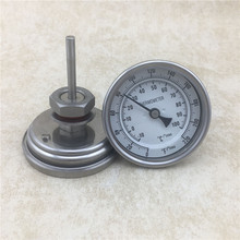 Weldless Bi-metal Thermometer With Nut Kit, 3