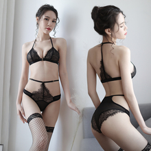 Adult sexy set lace 3 o clock summer female lingerie temptation