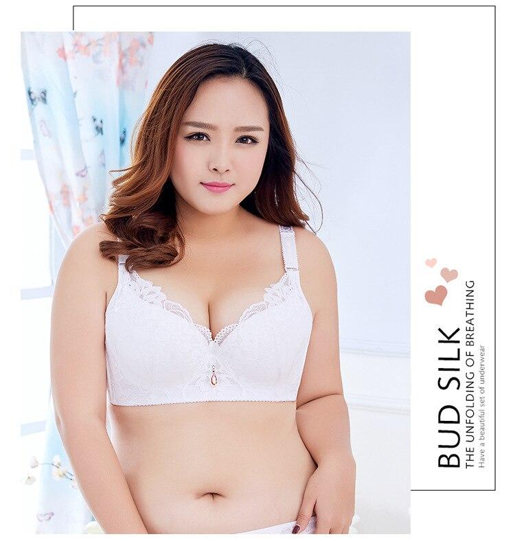 82b58f444a Super big size Women Sexy bra 80 85 90 95 100 105 110 115 C D E ...