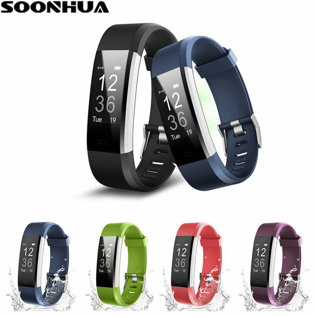 sports monitor bluetooth bracelet with wristband reminds heart red sku waterproof rate smart call p