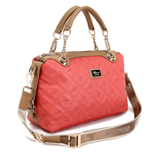New style 2016 new fashion European Style Ladies Zipper Closure Tote Bag Women Shoulder Bags ladies Handbags YM6009