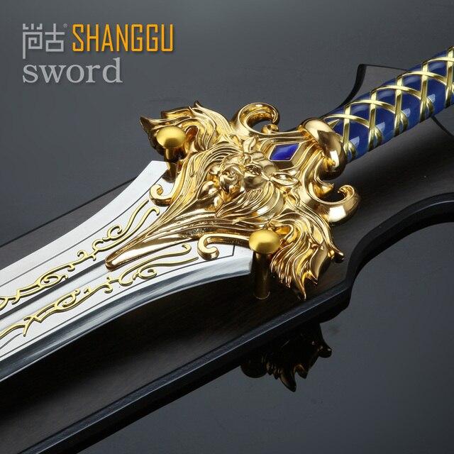 the film Llane Wrynn I King LLane Sword PVC Cosplay Prop The Alliance Stormwind 1