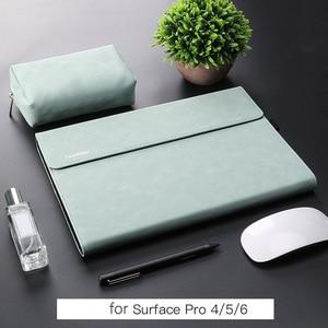 Image 4 - Yeni mat Tablet kol çantası Microsoft Surface Pro için 7 6 kılıf koruyucu kabuk kol için 12.3 inç yüzey Pro 4 5 kılıf çanta