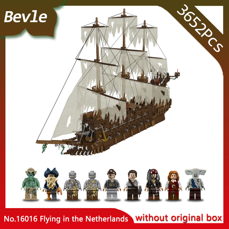 LEPIN 16016 3652Pcs Moive Series Flying the Netherlands Model Building Blocks Bricks Toys For Children With Pirates Caribbean ernst jan van prooye the netherlands 2028