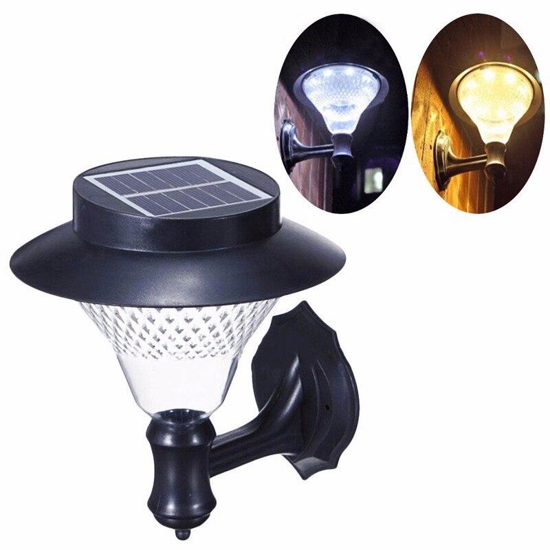 Solar Outdoor Lights No Batteries: New High Capacity Ni MH Battery Solar Lamp Decoration Wall