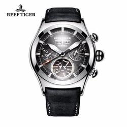 Rafa Tiger/RT na zewnątrz zegarki sportowe męskie wodoodporna świetlna Tourbillon zegarki automatyczne kalendarz analogowe zegarki RGA7503