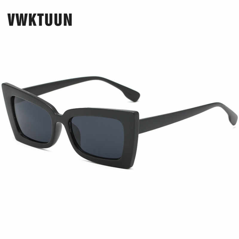 097d04622f5 VWKTUUN Square Sunglasses Women Men Butterfly Sunglasses Vintage Mirror  Shades Oversized Brand Desinger Sun glasses For