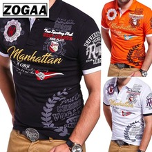 ZOGAA 2019 New Cotton T-shirt Men's Fashion T Shirt Short Sleeve Personality Designer Shirts Letter Printing Men Top T-shirts new style and new personality stamp for men s short sleeve t shirts