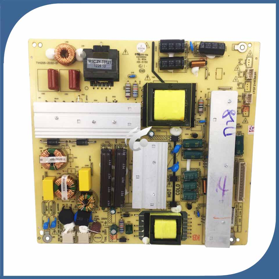 цена 100% New good Working Power Supply Board TV4205-ZC02-01 LE42C99 LED46C530 KB-5150 board