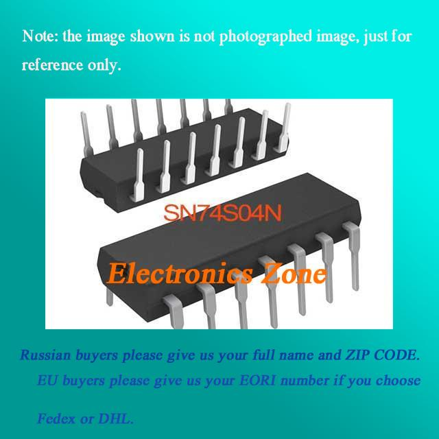 US $3 3 |SN74S04N IC HEX INVERTER 14 DIP SN74S04 74S0 SN74S 74S04 SN74  74S04N-in Integrated Circuits from Electronic Components & Supplies on