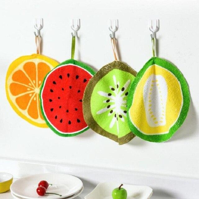 Hoomall Del Fumetto Cucina Salviette In Microfibra Mano Panno di Frutta Stampato