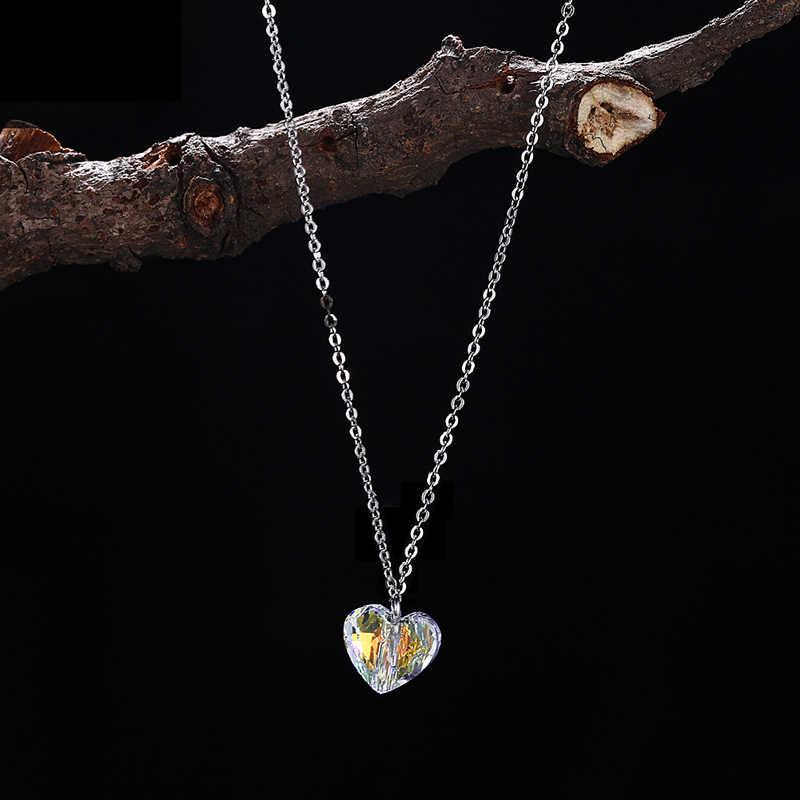 bf9b0ae41a8c Collar de cuentas de corazón romántico BAFFIN colgante coloridos de ...