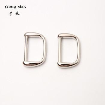 New 25 mm inner width zinc alloy D rings fashion bag hardware metal rings for handbag's straps 1 inch metal hardware