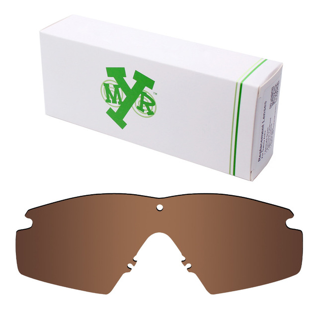 Mryok Anti-Scratch POLARIZED Replacement Lenses for Oakley Si M Frame 2.0  Sunglasses Bronze Brown