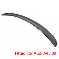 Desempenho Estilo Fibra De Carbono Trunk Bota Lip Spoiler Traseiro Asa Para Audi A4 B9 2013-2015