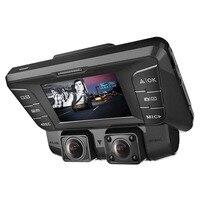 Pruveeo C2 Dash Cam с инфракрасным Ночное видение, двухдиапазонный, wi 1080 P спереди и внутри, тире Камера для автомобилей Uber Lyft грузовик такси