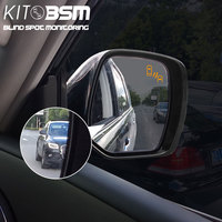 kitbsm 24GHZ microwave sensor blind spot mirror power headted function Radar based Safety Systems detection for Infiniti QX50