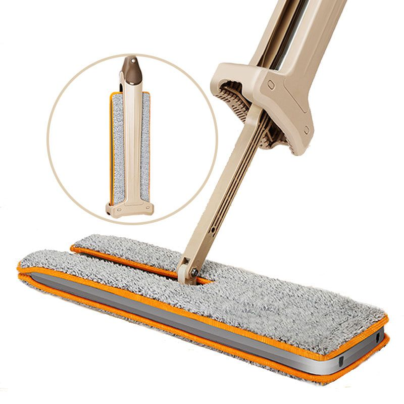 Double Sided Flat Magic Mop Hand Push Sweepers Dustpans ...