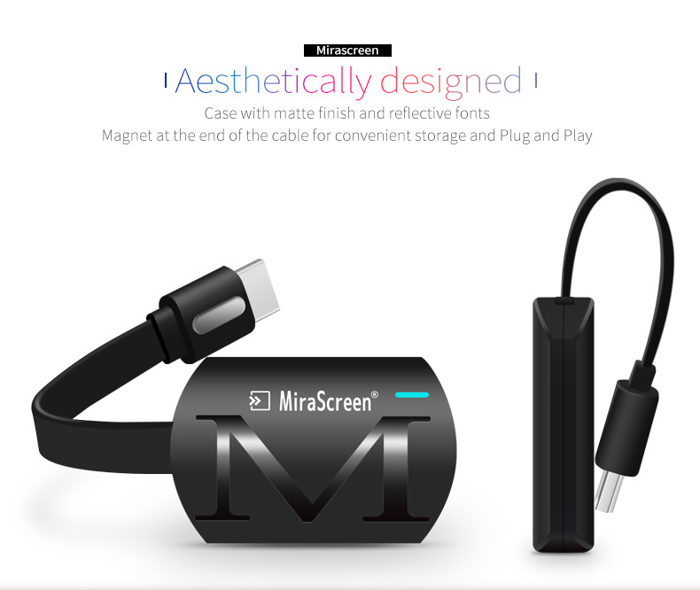 HD 1080P WIFI MiraScreen Display TV Dongle Miracast DLNA Airplay HDMI Receiver