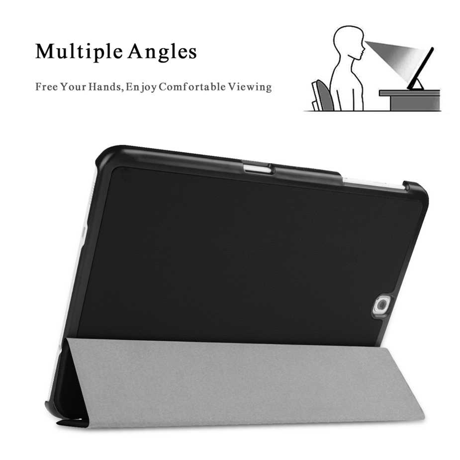Tab S2 9.7 Case cover SM-T813 T819 Slim Smart Case Cover voor Samsung Galaxy Tab S2 9.7 SM-T810 T815 Tablet met Auto Sleep/Wake