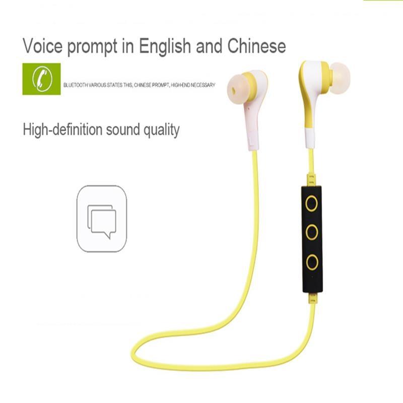 Yeni Kablosuz Bluetooth Kulaklık Mikrofon Ile HD Stereo kulak - Taşınabilir Ses ve Görüntü - Fotoğraf 4