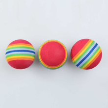 Golf Foam Balls Rainbow Color 50 Pieces
