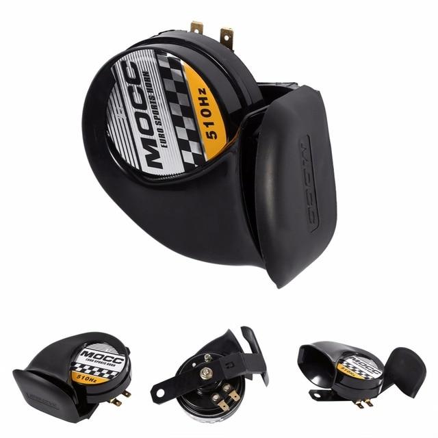 Universal Mini Loud Electronic Snail Horn For Motorcycle Loud Voice Speaker 12V 510HZ Motorcycle Snail Horn Snail Air Horn