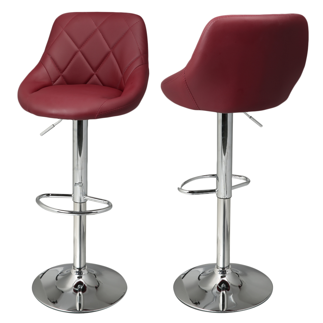 ... Homdox 2pcs Synthetic Leather Swivel Bar Stools Chairs Height Adjustable Pneumatic Heavy-duty Counter Pub ...  sc 1 st  AliExpress.com & swivel bar stools Picture - More Detailed Picture about Homdox ... islam-shia.org