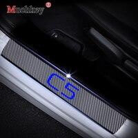 Авто часть порога Накладка для Citroen C5 порог двери автомобиля накладка на задний бампер двери автомобиля пороги автомобиль-Стайлинг Аксессу...
