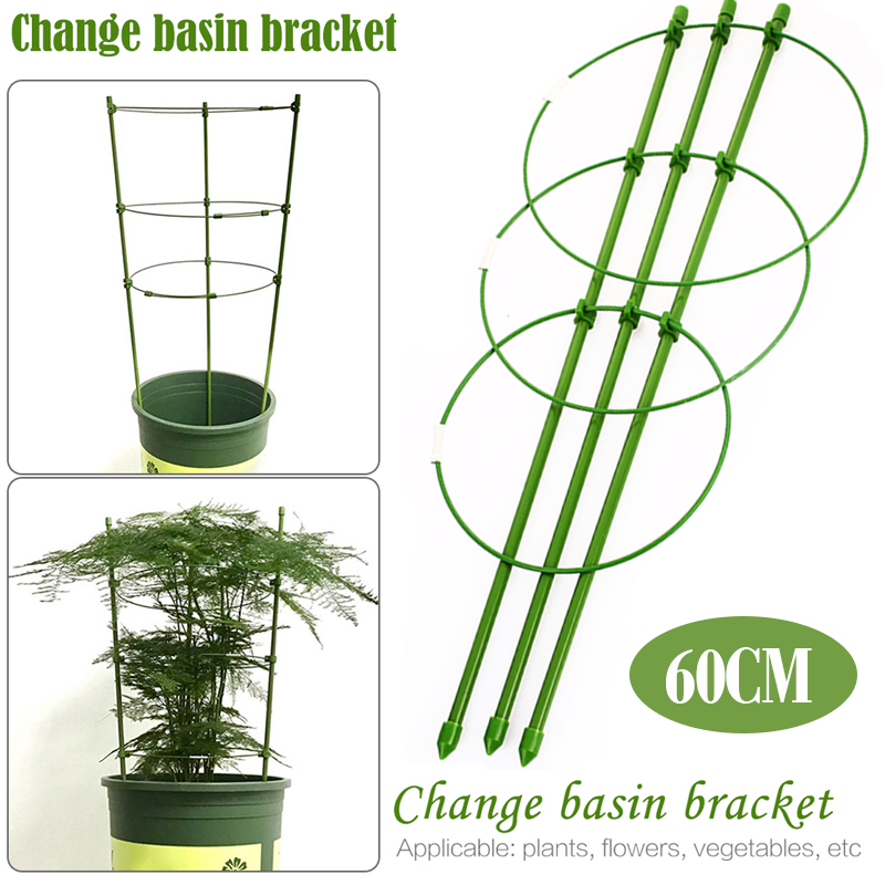 Durable Creative Vine Climbing Rack 60cm Flower Decorative Gardening Tools Vegetables Plant Trellis Plant Support Frame Plant