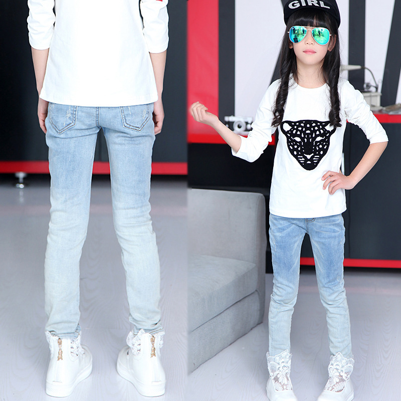 Aliexpress.com : Buy New Kids Baby Girl Summer Denim Casual