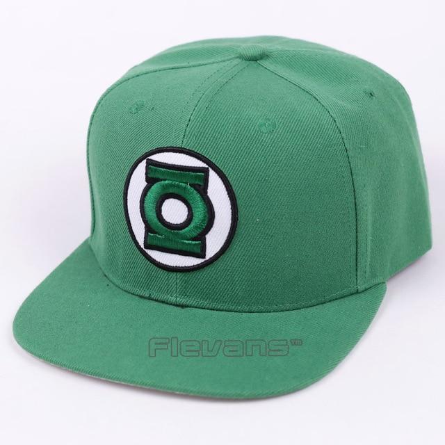 DC superhéroe Green Lantern Cosplay gorras ajustable hombres mujeres verano  fresco gorra de béisbol moda SnapBack 609db8f9657