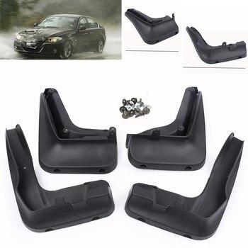4 piezas delantero trasero guardabarros Splash guardias Fender cubre para BMW Serie 3 E90 E91 E92 2007, 2008 2009, 2010, 2011,