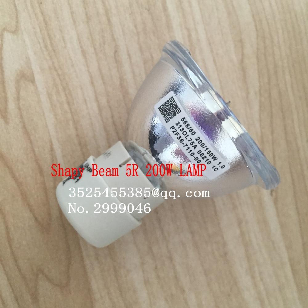 Free Shipping Shapy Beam 5R 200W LAMP Moving Beam 200 Lamp 5r Beam Scan 200 5r Metal Halide Lamps MSD Platinum 5R Halogen Lamp 1 сварочный полуавтомат кедр mig 500 f