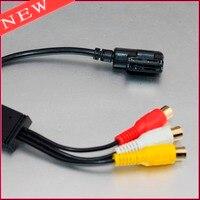 Naar RCA Connector AMI Audio Video Kabel Voor AUDI VW Aux plug met 3RCA Adapter