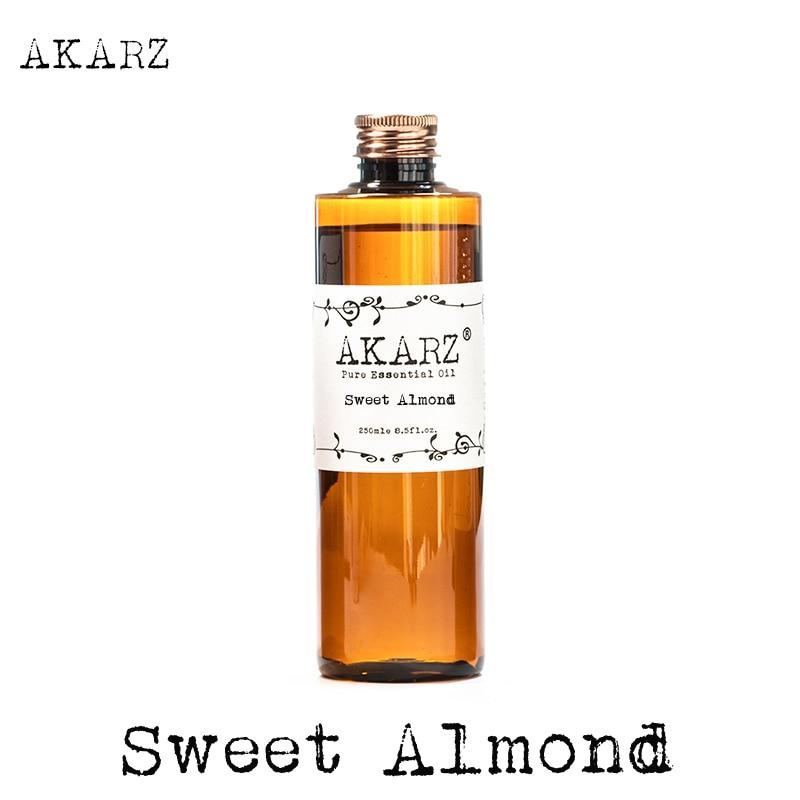 AKARZ Famous brand de ulei de migdale dulci aromaterapie naturale de înaltă capacitate piele de îngrijire a corpului de masaj spa ulei de migdale dulci de migdale