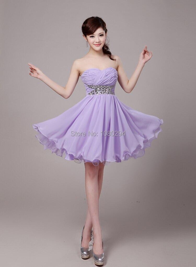 Aliexpress.com : Buy 2015 New Elegant Light Purple Cocktail ...