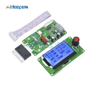 Image 3 - 100A Digital LCD Spot Welder Welding Machine Double Dual Pulse Encoder Time Control Weld Module Board Electronic Controller