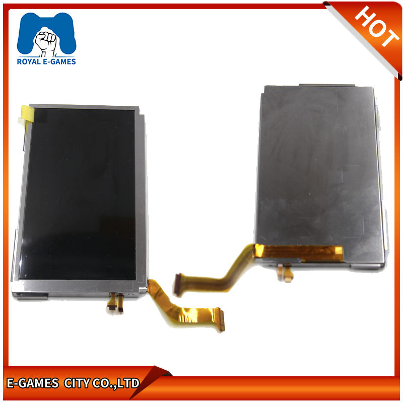 US $15 75  Upper Top LCD Screen Compatible for Nintendo NEW 3DS XL 3DS LL  3DSXL 3DSLL Replacement Repair Parts-in Screens from Consumer Electronics  on